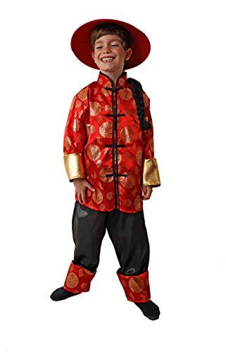 Costumizate! Disfraz de Chinito Talla 7-9 Especial para niños Fiestas de Disfraces o Carnaval