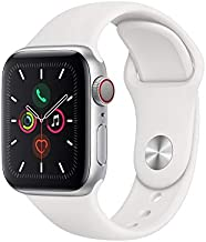 Apple Watch Series 5 (GPS+Cellular, 40mm) - Silver Aluminum Case with White Sport Band