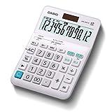 カシオ W税率電卓 12桁 税計算 ホワイト デスクタイプ DW-200TC-N
