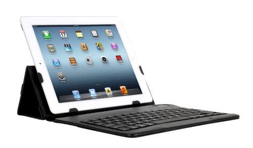 iHome Type Series: Type Slim Bluetooth Keyboard Case for iPad 2/3/4, Black