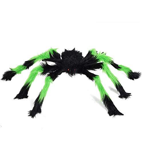 YC DOLL Halloween Couleurs Entières Simulation Araignées Peluches, Scary Skull Spider Accessoires, 1 Pièce d'halloween Peluches Araignées, Choisissez Parmi Une Variété De Couleurs Et De Tailles,50Cm