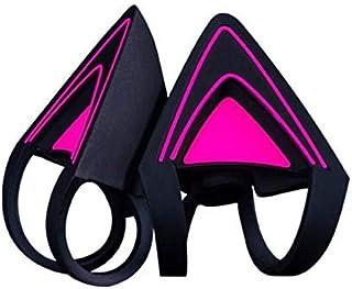 Razer Kitty - Orejas para Auriculares Kraken: compatibles con Kraken 2019, Kraken TE Headsets, Correas Ajustables, construcción Resistente al Agua, Color Morado neón