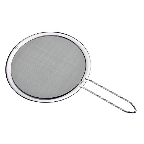 Küchenprofi KP808052826 DELUXE-KP808052826 Spritzschutzsieb, 18/8 Edelstahl, silber
