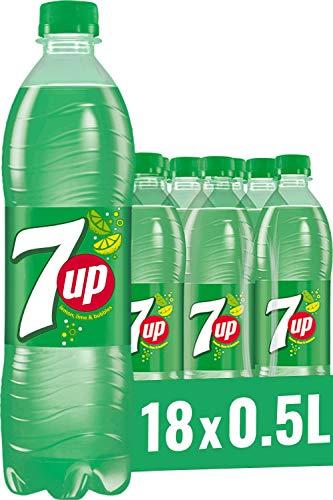 7UP, Limonade mit Limetten- und Zitronengeschmack (18 x 0,5 l)