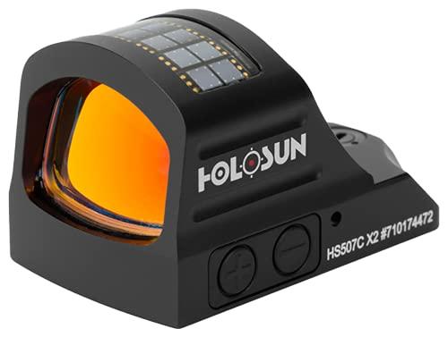 HOLOSUN - HS507C-X2 Classic Multi Reticle Red Dot Sight (Black)