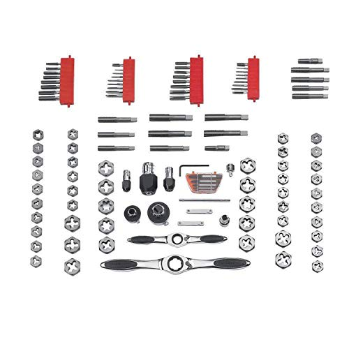 Product Image 2: GEARWRENCH 114 Pc. Ratcheting Tap and Die Set, SAE/Metric – 82812
