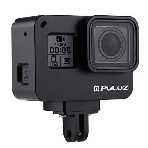 puluz® Gehäuse CNC Aluminium Legierung Schutz Käfig mit Versicherung Rahmen für GoPro Hero5Action Kamera
