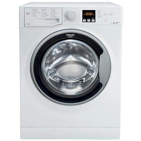 Hotpoint RSF 803 S IT Libera installazione Carica frontale 8kg 1000Giri/min A+++ Bianco lavatrice