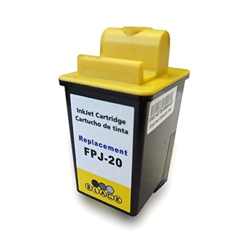 Cartucho Tinta Compatible para Olivetti FPJ-20 / FPJ20 Negro T145