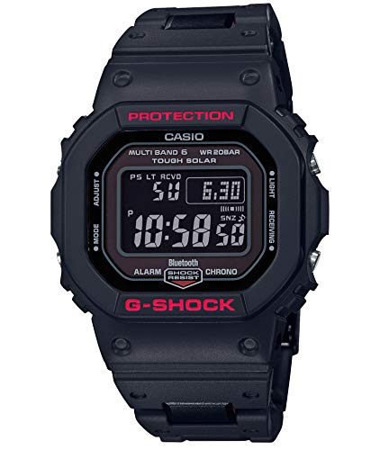 [カシオ] 腕時計 ジーショック Bluetooth 搭載 電波ソーラー GW-B5600HR-1JF メンズ ブラック