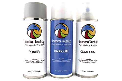 Genuine OEM Automotive Touch Up Spray Paint (Primer/Basecoat/Clearcoat) for Toyota - Select Your Color (1D6 Silver Sky Metallic)