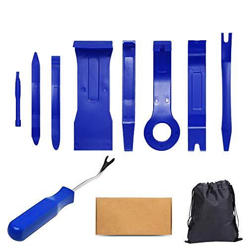 Kit Utensile di Smontaggio,Leve in Plastica per Smontare Carrozzeria Interna Auto Attrezzi Plastica Auto Strumento di Rimozione Auto Pannelli Riparazione