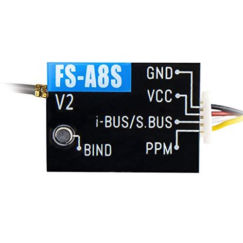 PinBoTronix Mini-Empfänger PPM i-Bus-Ausgang für FS-i6S FS-i6X FS-i10 FS-TM10 RC-Sender-Controller-Drohne