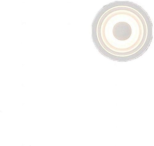 ZYY  Applique de mode nordique porche allée personnalité créatrice, applique murale en forme d'anneau de fer annuel, ligh blanc chaud, 15 cm