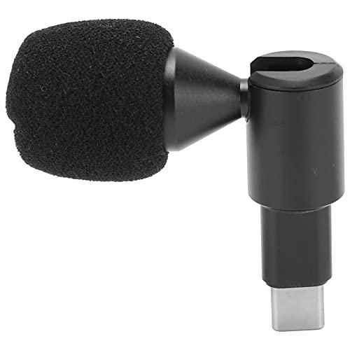 Zwinner Micrófono de teléfono, micrófono de Solapa Mini Flexible para teléfono móvil para cámara de Movimiento