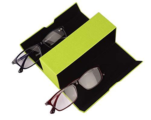 Praktische brillenkoker dubbeletui