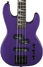 Jackson JS Series Concert Bass Minion JS1X Bass Guitar (Pavo Purple)