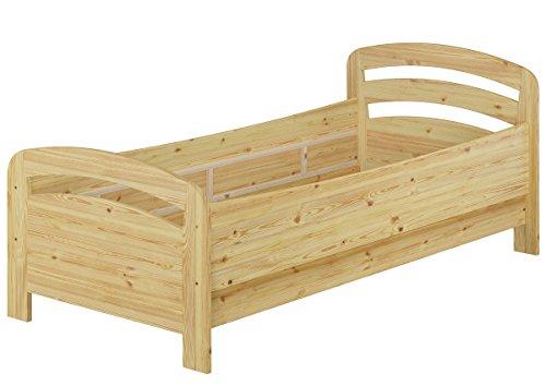 Erst-Holz® Seniorenbett extra hoch Einzelbett 90x200 Kiefer Massivholz Holzbett (ohne Zubehör) 60.43-09 oR