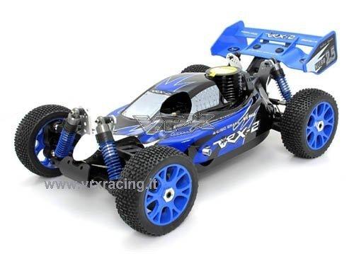 VRX Buggy 1/8 off Road con Motore a Scoppio Go.21 - Radio 2.4GHz - 4WD - RTR - RH802 2