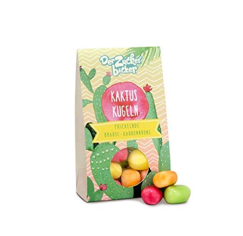 Kaktus Kugeln, Bunte Frucht-Kracher, süße Geschenk-Idee für Geburtstage und Garten-Partys