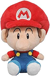 Little Buddy 1247 Super Mario All Star Collection Baby Mario Plush, 6