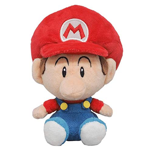 Little Buddy 1247 Super Mario All Star Collection Baby Mario Plush, 6'