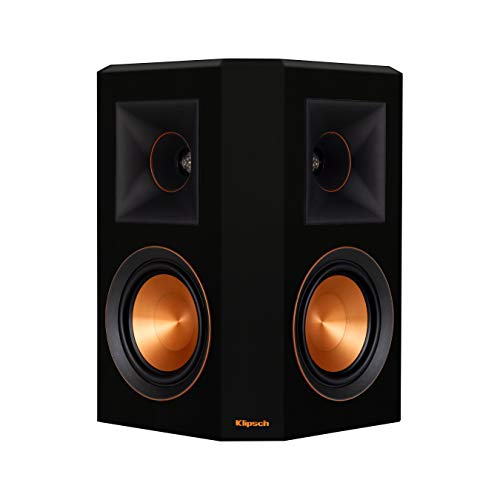 Find Discount Klipsch RP-502S Surround Sound Speakers (Pair) (Piano Black)