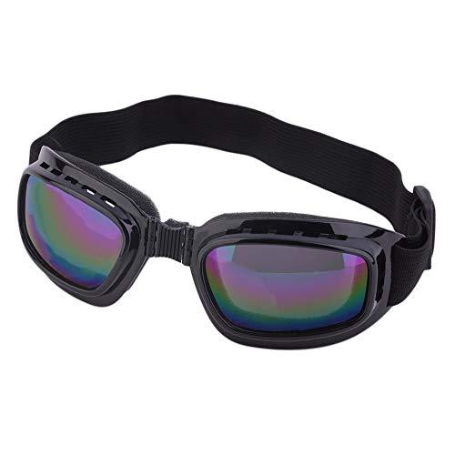 Gafas unisex de seguridad plegables a prueba de viento, gafas de trabajo antisalpicaduras y antichoques Color polarizado antideslumbrante Luz adecuada para usar en esquís Motocicletas Bicicletas