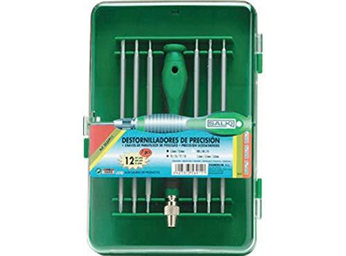 Salki 8656911.0 8656911-Juego Destornilladores precisión 7 pcs, Metal, l