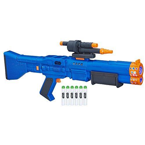 Star Wars Nerf Chewbacca Blaster, Azul, Estándar