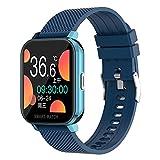 Smart Watch MT28 Sports Men's Smart Watch Prueba DE Temperatura Cuadrada 1.54 Pulgadas Pista De La Pista Rastreador De Fitness Pantalla Táctil Completa Presión De Ritmo Cardíaco Oxígeno,B