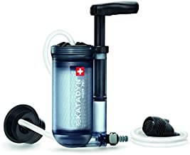 Katadyn Hiker Pro Transparent Water Filter, Lightweight, Compact Design for Personal or Small Group Camping, Backpacking or Emergency Preparedness, one Size (8019857)