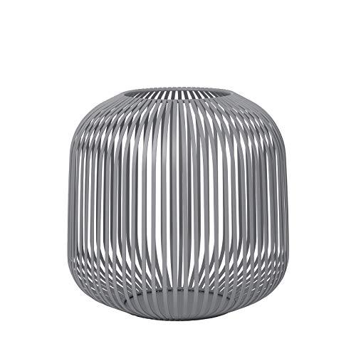 Blomus - Laterne - Windlicht - Steel Gray - Medium - Maße (ØxH): 27,5 x 27 cm