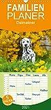 Dalmatiner - Familienplaner hoch (Wandkalender 2021, 21 cm x 45 cm, hoch)