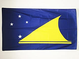 AZ FLAG Tokelau Flag 2' x 3' for a Pole - New Zealand Flags 60 x 90 cm - Banner 2x3 ft with Hole