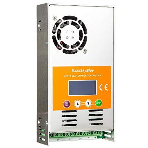 MPPT Laderegler 30A für 12V 24V 36V 48V Batterien DC Automatische Identifizierung mit LCD Display Smart Solar Charge Controller (V118-30A)