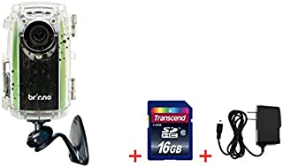 Brinno Construction Time Lapse Camera Bundle BCC100 + Free 16GB SDHC + Wall Power Supply