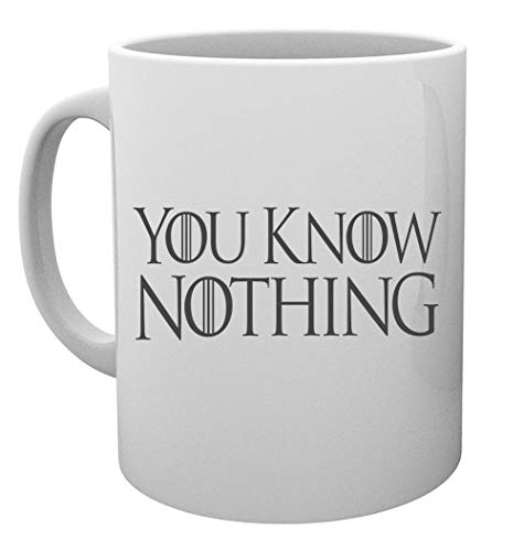 You Know Nothing Taza Mug Cup