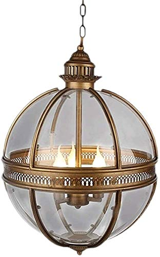 Remojar araña de granja acabado Orbe iluminación de la lámpara de techo al ras de la lámpara pendiente del accesorio ligero Room Dining,White
