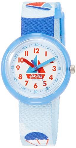 FlikFlak Jungen Analog Quarz Uhr mit Stoff Armband FPNP028