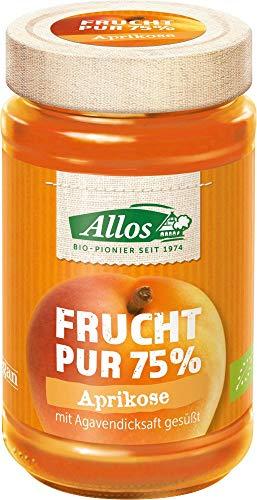 Allos Bio Frucht Pur 75% Aprikose (6 x 250 gr)