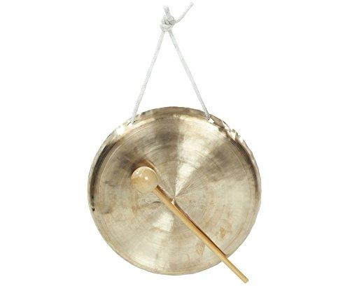 Betzold Musik 8856 - Hand-Gong Effekt-Instrument Heller Ton - Musik-Instrumente Schule Klang Ruhesignal Kinder Musikunterricht Musikschule