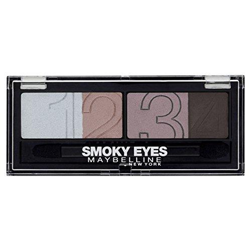 Maybelline New York Eyestudio Palette Smoky eyes - Palette ombre à paupières Noir - 32 smoky black