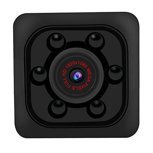 SHANGXIN Mini cámara de alta definición SQ11, cámara de cubo portátil, monitor de seguridad nocturna, tarjeta de memoria gratuita de 32 GB, para garantizar la seguridad del hogar.