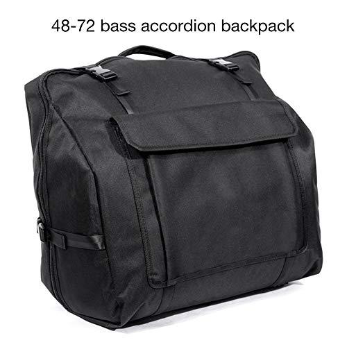 cuffslee Akkordeon Rucksack Akkordeon Gig Bag Akkordeon Koffer Rucksack Für 48/60/72/80/96/120 Bass Piano Akkordeons
