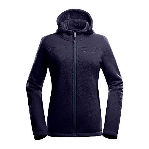 Fleece Jacket Women-Waterproof Plush Lining Hoodies...