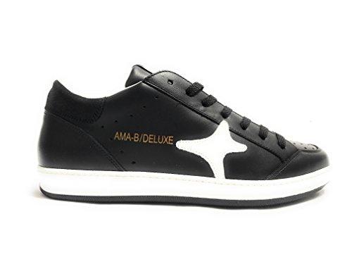 Scarpe UOMO AMA-BRAND DELUXE Sneaker Modello Slam Colore Nero U18AM03