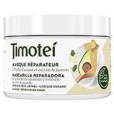 Timotei mascarilla reparadora para cabello dañado con aceite de aguacate y...