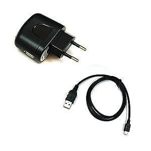 BG de akku24Cargador y cable de carga, cable de datos, cable USB para Nikon Coolpix A900, B700, S33, S5300, S9600, S9700, S9900, S810C, S6800, S7000, AW120, AW130, P340, P600, P610, P900–UC de E21