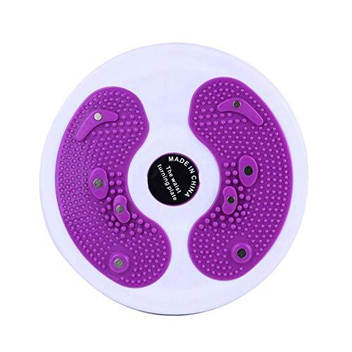 Sunnyushine Placa de cintura, tabla giratoria para ejercicios aeróbicos para ejercicios aeróbicos, disco de torsión Fitness con expansor para abdominales, cintura y brazos
